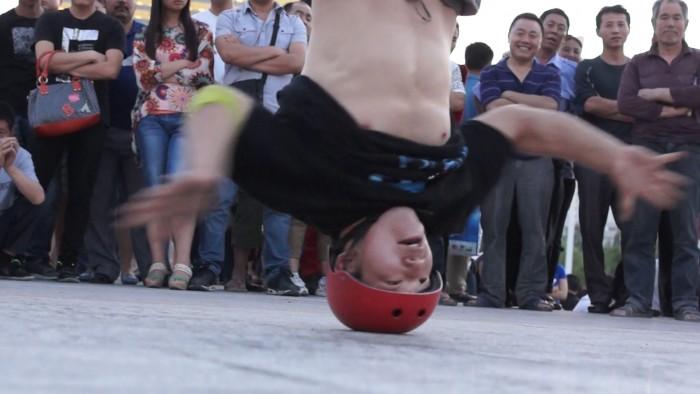 Breakdancing in Urumqi